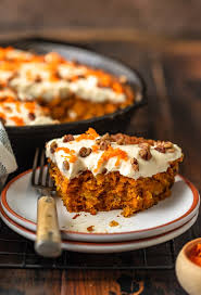 Skillet Carrot Cake Recipe With The Best Cream Cheese Frosting Video