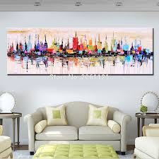 Modern Living Room Paintings Aliexpresscom Buy Fashion Modern Living Room Decorative Oil
