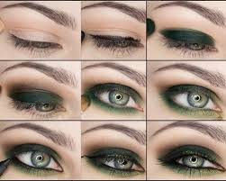 smokey eye for green eyes