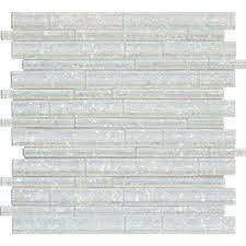 akoya brick 12 in x 12 in x 8mm glass mesh mounted mosaic