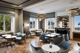 Living Rooms And Living Room Bar Kitchen Hotel De La Paix Geneva A Ritz