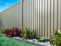 Interesting Sheet Metal Fence Garden With Bars Steel On Design