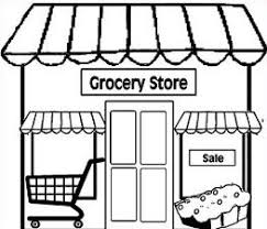 store clipart black and white. Brilliant Clipart Free Grocery Tags Stores Store Clipart Gorcery Png On Clipart Black And White A