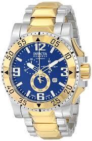 gold men watches invicta men s 15330 excursion analog display gold watches men invicta