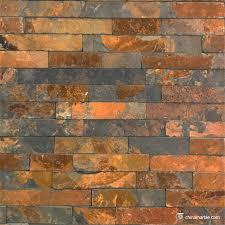 copper rust slate culture stone