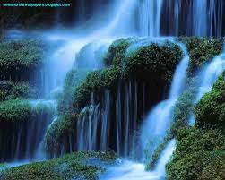 50+] 3D Beautiful Waterfall Wallpapers ...