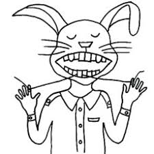coloring pages of teeth. Contemporary Pages Bunny Flosses Tooth With Thread Coloring Page Throughout Pages Of Teeth I