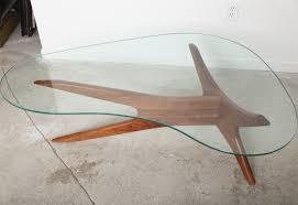 Kidney Shaped Glass Top Coffee Table Kidney Shaped Glass Top Coffee Table Glass Tables