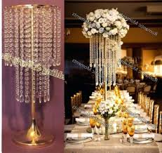 flower stand diamond pendant crystal chandelier wedding