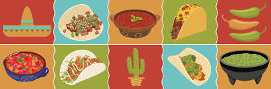mexican food border clip art. Fine Food For Mexican Food Border Clip Art