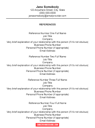 Below we show you how to write a reference page to pair with your resume, and provide examples and a template. Resume Reference Page Setup Tips Template