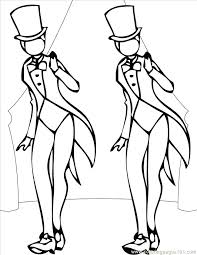 Dancer Coloring Pages Drawn Dance Page Pencil And In Color Academy