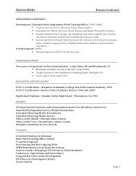 Narcotics Officer Sample Resume Unique Police Report Template Google Docs Ramautoco