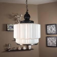 swag light vintage 1930s 1940s art deco milk glass skyser swag light chandelier rewired swag light