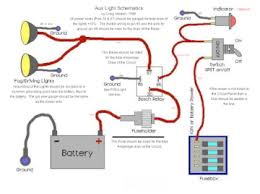 off road light wiring diagram out relay wiring diagrams and how to wire driving fog lights moss motoring