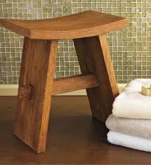 Teak Bathroom Stools Stylish On Intended For Shower Elderly Small Stool 17