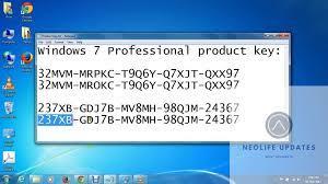 windows 7 key 2021 latest