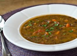 french lentil and vegetable soup with bacon once upon a chef