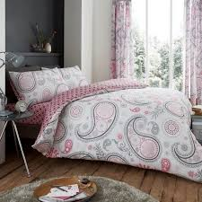 bedroom decor grey and pink duvet cover