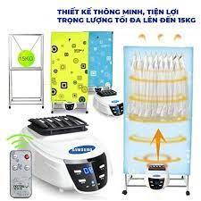 TỦ Sấy quần áo SS TIA UV, DIỆT KHUẨN, có điều khiển, bảo hành 12 tháng (CÓ  SẴN TẠI KHO) - Máy giặt