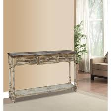 pulaski furniture breakfront multitone ivory juliet storage console table wood console table r95