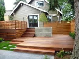 building a floating deck on uneven ground ground level deck building a floating deck on uneven ground