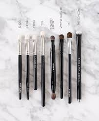 eye makeup brushes lids and wash the beauty look book