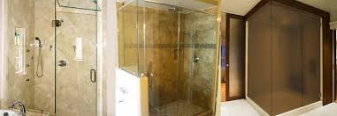 high quality frameless shower door services