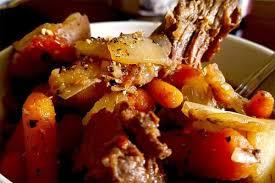 crock pot venison pot roast recipe to
