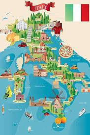Animated Travel Map Amazon Com Italian Tourist And Travel Destinations