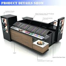 Make Up Stands And Displays Awesome Cosmetic Gondola Display Counter Stand Bomb Cosmetics China
