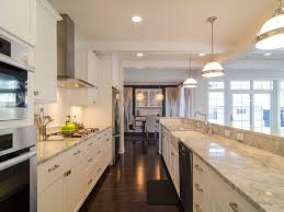 The Unique Galley Kitchen Design Kitchen Remodel Styles Designs