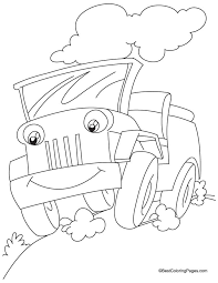 jeep coloring pages car coloring pages cool cars 9