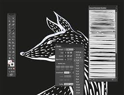 Enter the dash and gap value as shown. 6 High Quality And Free Illustrator Brushes