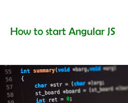 How to start Angular JS ~ Coding Workspace