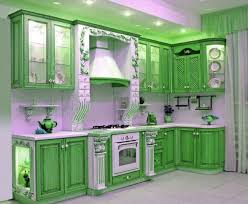 cabinet design for kitchen. Green Kitchen Cabinet Design For