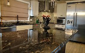 Titanium Granite Kitchen Curly Medley Titanium Granite Countertop