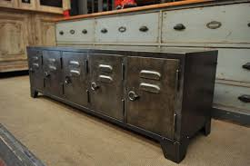 industrial metal sideboard with five doors s for sale at pamono