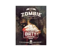 horror flyer template design extra grunge and scratched poster zombie flyer template psd horror party flyer template
