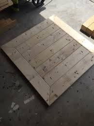 Square Plank Coffee Table Plans - Rogue Engineer 7