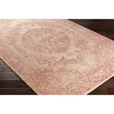 captivating pink area rug with bungalow rose anselma hand loomed creampink area rug reviews lovable pink area rug with mercury row brannigan blackpink