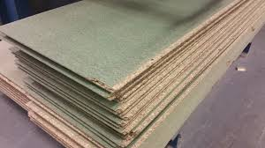 tongue and grooved moisture resistant chipboard flooring