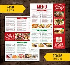 Restaurant Menus Templates Free Radiovkm Tk