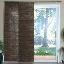 sliding glass door panels curtains inspiring panel for doors inspiration with retractable awning blackout curtain