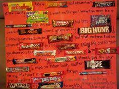 03edb c77ac0a726b6d382bd699a candy bar posters cute valentine ideas