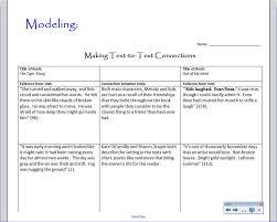 connections essay example connections essay example connections connections essay examplemiddle school teacher to literacy coach text to text minilesson