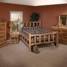 Lodge Bedroom Furniture Lodge Pole Pine Bedroom Set King Dinettes