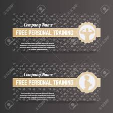 Personal Training Gift Certificate Template Free Personal Training Gift Voucher For Gym Fitness Club Gold 19