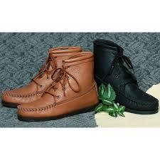 womens deertan walking boots
