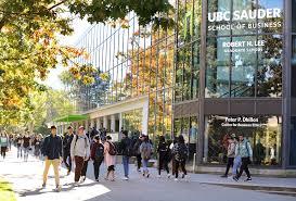 Ubc Gpa Chart The University Of British Columbias Sauder School Of Business